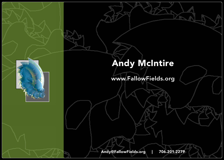 Andy McIntire: www.FallowFields.org Copyright 2013-14
